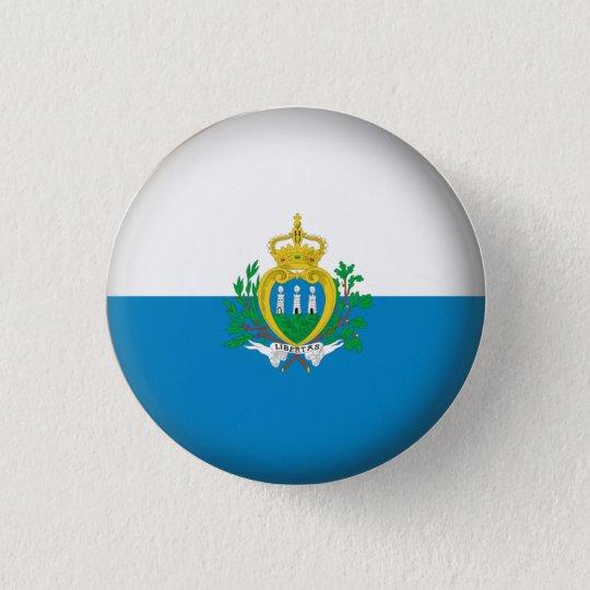 Round San Marino 3 Cm Round Badge