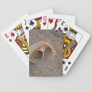 Round Seashell Playing Cards Card Decks