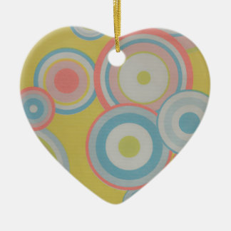 ROUND SHOW - WOWCOCO CERAMIC HEART DECORATION