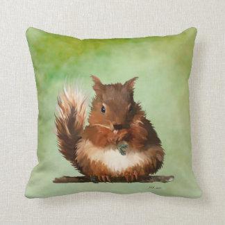 Round Squirrel Cushion