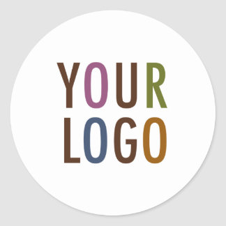 """Round Stickers 3"""" Custom Product Label with Logo"""