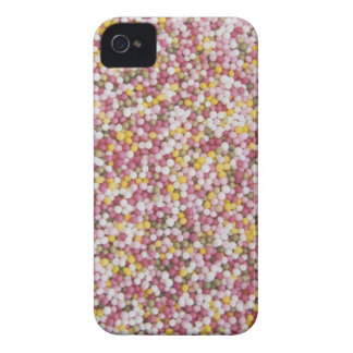 Round Sugar Sprinkles iPhone 4 Case