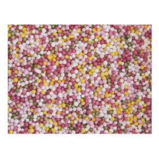 Round Sugar Sprinkles Postcard