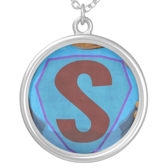 Round SUPERrifiic Kids Pendant and Chain