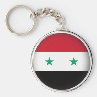 Round Syria Basic Round Button Key Ring