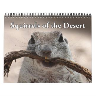 Round Tailed Ground Squirrels 2016 Calendar