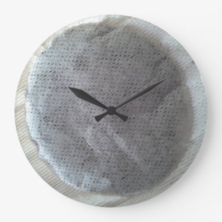 Round Tea Bag Clock