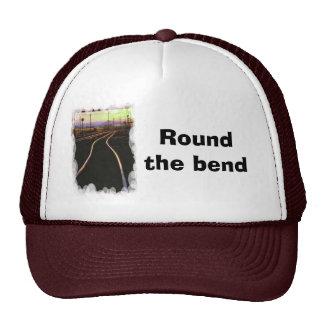 Round the bend trucker hats