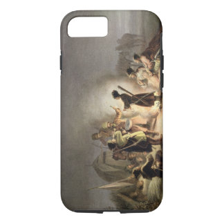 Round the Camp Fire (colour litho) iPhone 8/7 Case