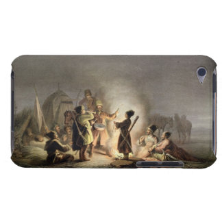Round the Camp Fire (colour litho) iPod Touch Cover