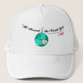 'Round the World Girl Trucker Hat