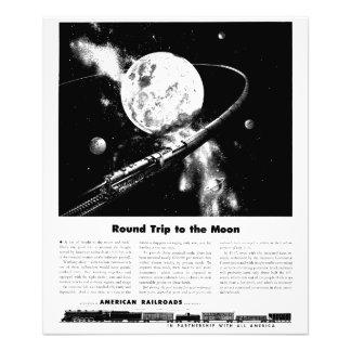 Round Trip To The Moon Kodak Photo Print