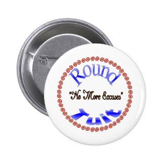 Round Tuit Pinback Button