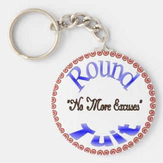 Round Tuit Basic Round Button Key Ring