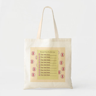 Round Tuit Budget Tote Bag