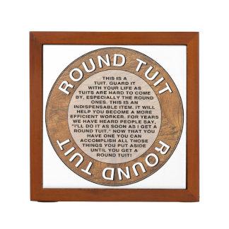 Round Tuit Desk Organiser
