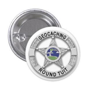Round Tuit - Geocaching Pin