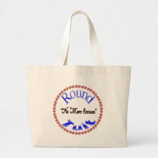 Round Tuit Jumbo Tote Bag