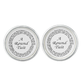 Round Tuit Cufflinks