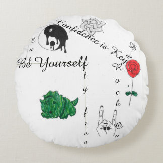 Round Tumblr (esque) round pillow