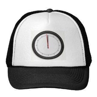 Round Wall Clock Mesh Hat