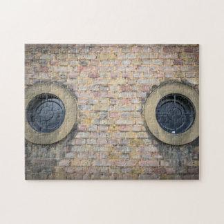 Round windows photo puzzle