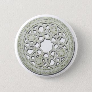 RoundDecorativeTile112810 6 Cm Round Badge