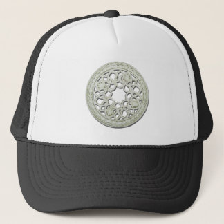 RoundDecorativeTile112810 Trucker Hat