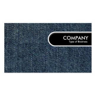 Rounded Edge Tag - Old Blue Jeans Business Cards