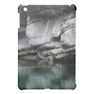 Rounded Rock Cliff by Verzasca River Case For The iPad Mini