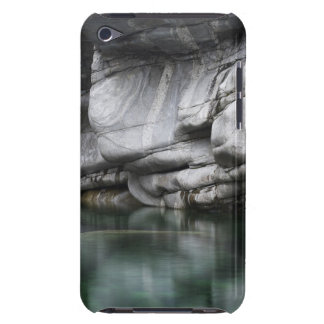 Rounded Rock Cliff by Verzasca River iPod Case-Mate Case