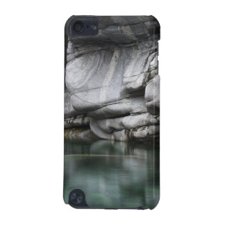 Rounded Rock Cliff by Verzasca River iPod Touch 5G Cover