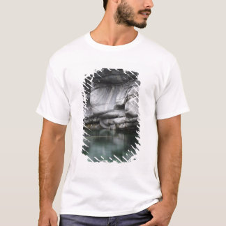Rounded Rock Cliff by Verzasca River T-Shirt
