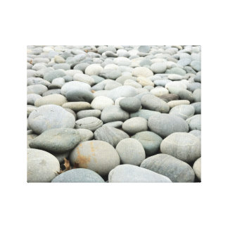 Rounded Rocks Canvas Print