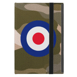 Roundel Classic Target on Camouflage Decor Case For iPad Mini