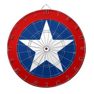 Roundel de Chile Dartboard With Darts