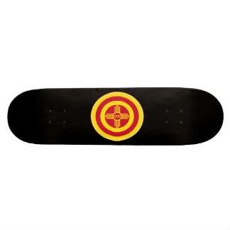 Roundel of Albuquerque Skate Board