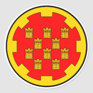 Roundel of Greater Manchester Classic Round Sticker