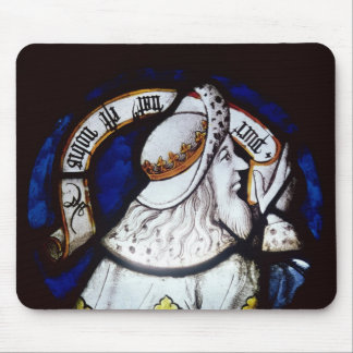 Roundel of the prophet Isaiah Mouse Pad