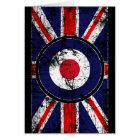 Roundel Target Mods UK Target Union Jack Card