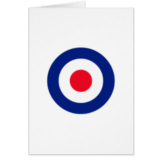 Roundel Target Symbol Graphic Card