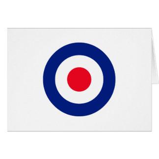 Roundel Target Symbol Graphic Card