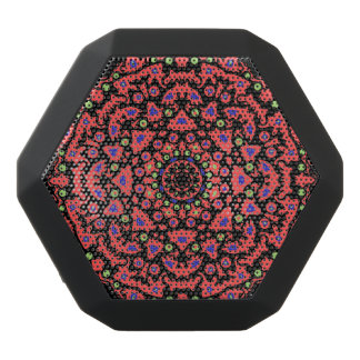 Roundelay Abstract Art Black Boombot Rex Bluetooth Speaker
