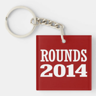ROUNDS 2014 ACRYLIC KEY CHAINS
