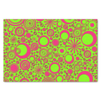 Rounds-Pink-Neon-TISSUE WRAPPING PAPER