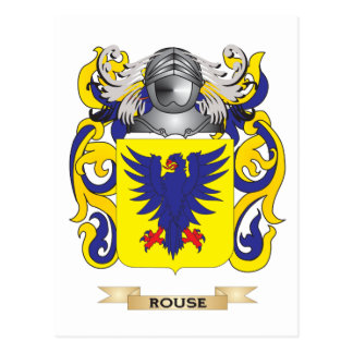 Rouse Coat of Arms (Family Crest) Postcards