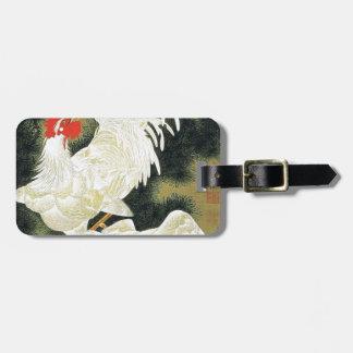 Rousho Hakkeizu by Ito Jakuchu Luggage Tags