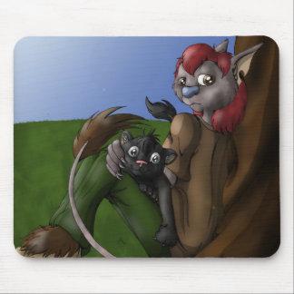 Rousoe & Kenji mousemat Mouse Pad