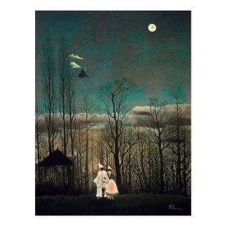 Rousseau Carnival Evening Postcard