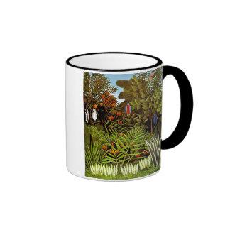 Rousseau - Exotic Landscape Coffee Mug